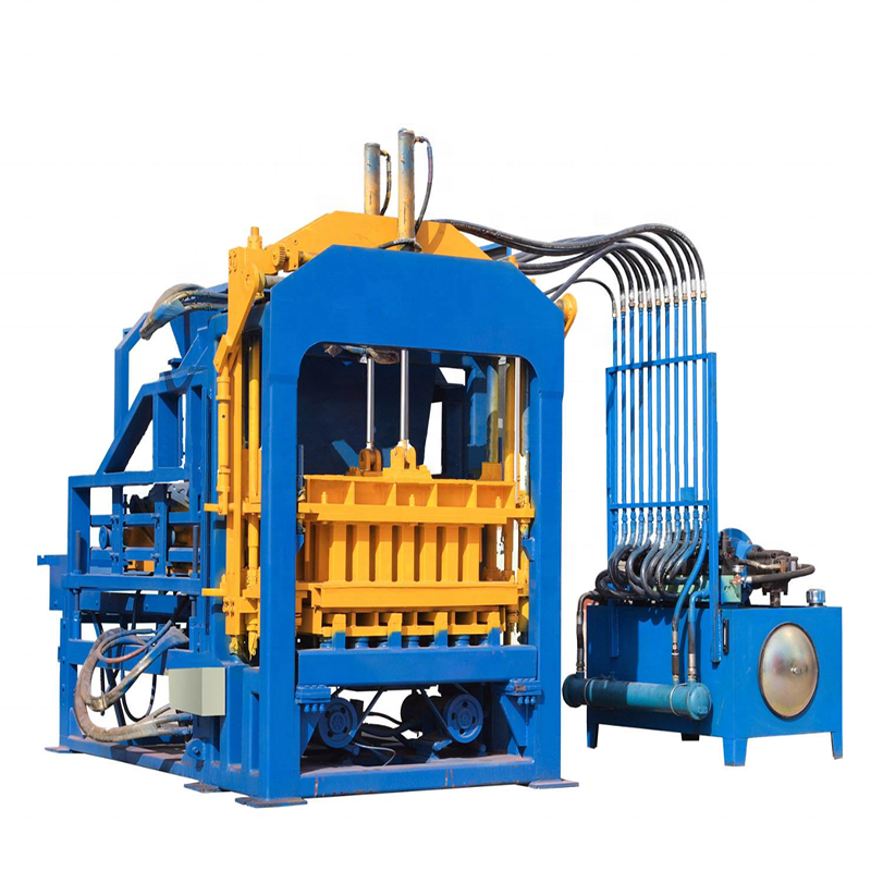 Automatic concrete block making machine,brick making machine price