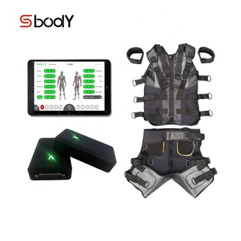 2019 Advanced Wireless EMS Electrofitness training suit / ems fitness machines for  studio