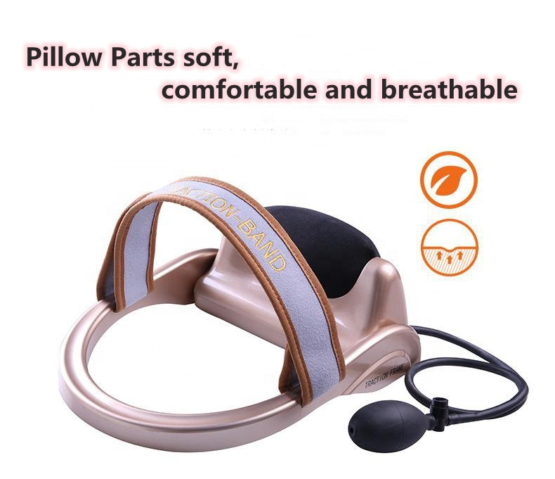 Physical massage pillow cervical vertebra traction physiotherapy instrument neck traction band