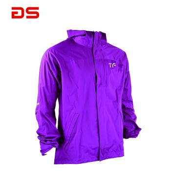 2019 Custom man's jogging wear breathable polyester tracksuit jacket
