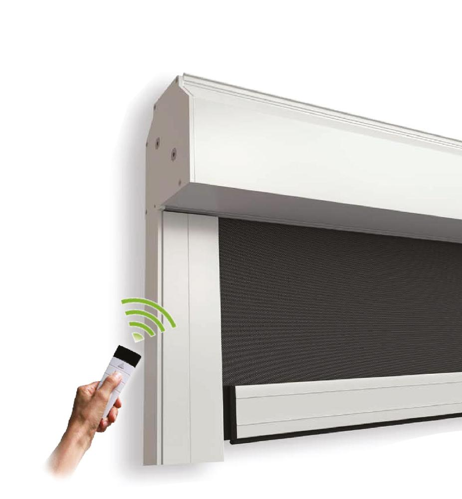 Large Size Anti-Mosquito Recessed Roller Flyscreen System