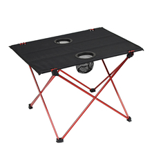 Outdoor Folding Camping <strong>Table</strong> with Cup Holder
