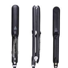 Steam Function Flat Iron Tourmaline Ceramic Professional <strong>Hair</strong> <strong>Straightener</strong> with comb <strong>Best</strong> <strong>Hair</strong> Straightening Irons with teeth
