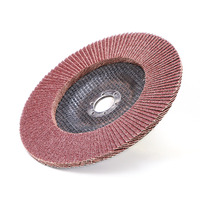 Flower shape industrial grinding wheel flap disc