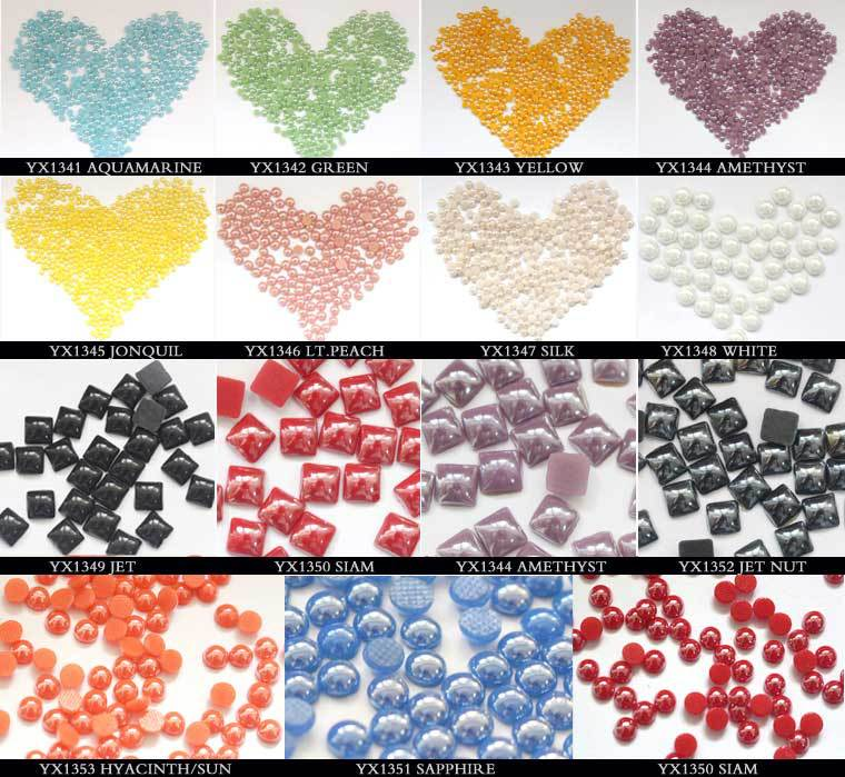 S0919 Rectangle shaped pearls half,Cheap price pearl half round,half pearls wholesale
