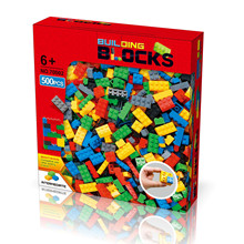 500pieces Educational Creative Classic Building Blocks Building Bricks Compatible with legoing Brands STEM Toy