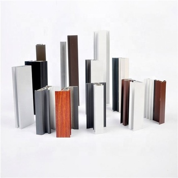 6063 T5 Aluminum profile for sliding door with different color from China