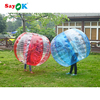 Giant human inflatable belly bubble loopy knocker bumper ball for adults