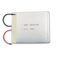 Wholesale lipo battery 3.7V 20000mAh Li polymer Battery Rechargeable Battery for digital device