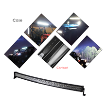 120W 180W 240W 288W Curved <strong>LED</strong> Light Bar,Car Headlight Combo Lights Outdoor Waterproof IP67 SUV Off Road Boat Driving Lighting