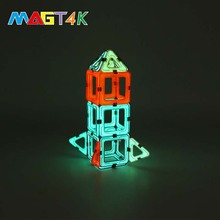 Factory direct sale safe ABS plastic kids toys diy assembly educational building block set toy