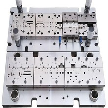 china metal stamping die stamped parts punching press progressive <strong>mould</strong>