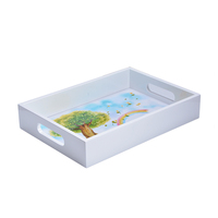 Wholesale Custom Cheap Storage Wooden Serving Tray