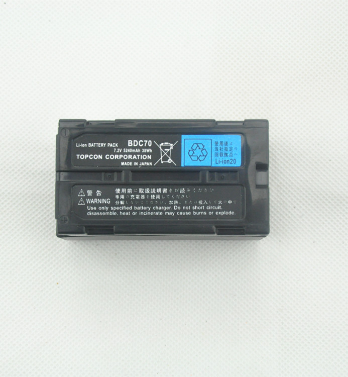 New <strong>Battery</strong> For Topcon &amp; Sokkia BDC70 <strong>Battery</strong> 7.2V 5240mAh