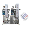 Shanghai YB-150SF 2 lanes automatic mica packing herbal makeup powder packaging machine