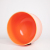 Success  singing Bowl 8inch D note Navel Chakra set orange colored Frosted crystal singing bowl wholesale price