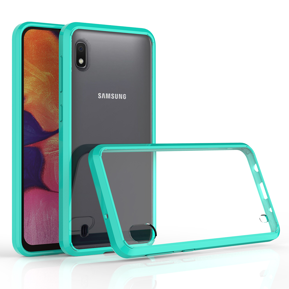Ultra Clear Scratchproof Acrylic Hard Cover Transparent Tpu Phone Case For Samsung Galaxy <strong>A10</strong>