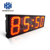 "Honghao 6"" 4 Digit LED Large Countdown Count Up Clock Timer For Sport Race"
