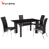 Free Sample Chairs Marble Round Wood Furniture Modern Plexiglass Glass Mirrored Dining Room Table For Dining Room