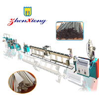 Automatic Soft PVC TPE sealing strip for Refrigerator Extrusion Machine / door gasket fram production line