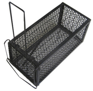 2019 hot sale black powder painted mouse rat trap cage