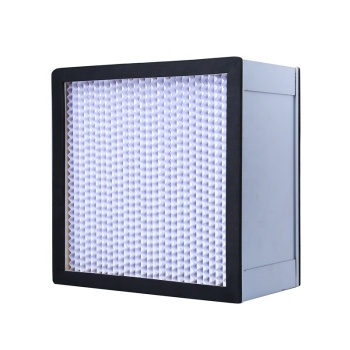 Direct selling high efficiency air filter dust-free workshop used mini pleat and deep pleat hepa air filter