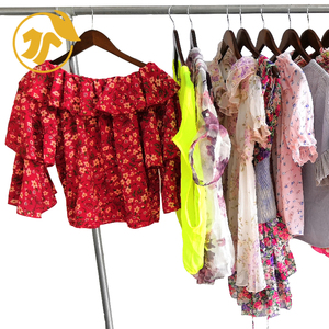 Cheapest Factory Supplier LADIES SILK BLOUSE Bales Used Clothes Used clothing Bulk