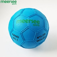 Wholesale Custom Logo Mini Rubber Beach Handball In Different Sizes