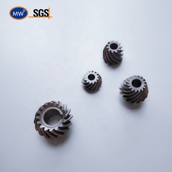 Free sample CNC high quality grinded pinion professional oem spur spiral helical hypoid bevel gear