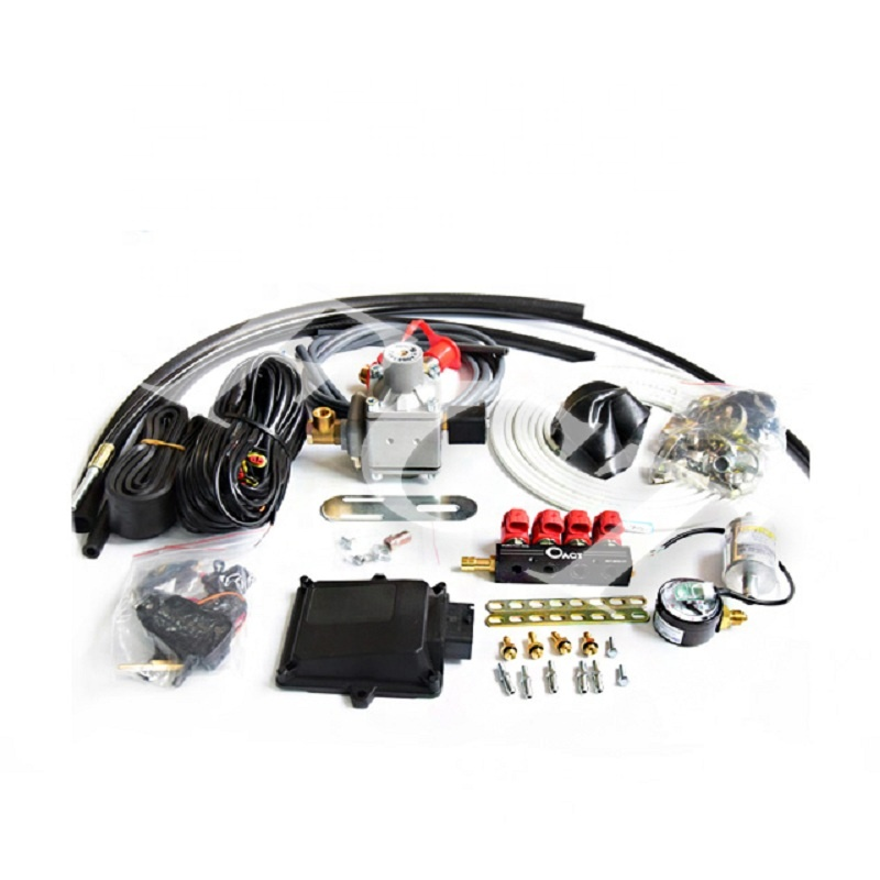 FCT Auto kit gas generation 5 for cars cng vaporizer conversion 4cylinder sequential cng kit