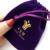 Customized High-grade Velvet Drawstring Pouch Packaging Velvet Gift Bag