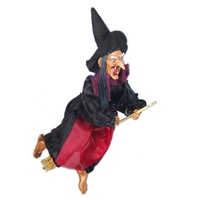 halloween bar KTV props voice flying witch decoration
