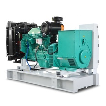 AC 3 phase silent diesel power generators 80 kw with Cummins silenced genset 100 kva prices