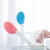 2019 new long handle Vibration massage silicone electric bath brush