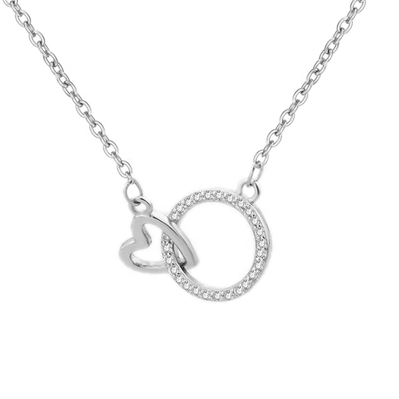MW16 <strong>Fashion</strong> 2019 glamour circle of life heart-shaped weirdredneck necklace pendant destiny jewellery