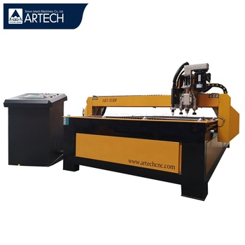 1530 cnc plasma cutting machine for metal with drilling holes
