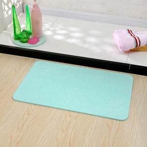 Amazon top seller 2019 special offer fast water absorbent mat diatomaceous earth bath mat diatomite bath mat