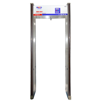 Full Body Archway Walkthrough Metal Detector, MCD-500C with 18 High Sensitivity Detection Zones