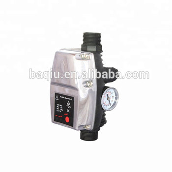 Automatic electronic pressure switch for water pump control