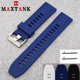 latest transparent quick release silicone watch band watch strap