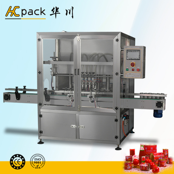 Four heads full-automatic pesticide filling machines from China supplier