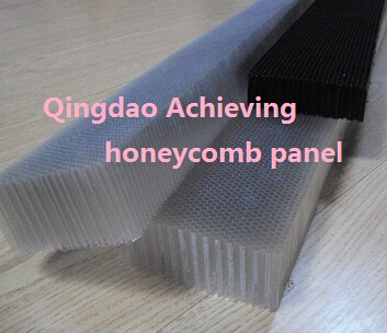 transparent PC PP plastic honeycomb panelfor air filter or air flow adjustment of wind outlet