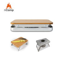 japanese korean gas stove mini tent stove for wood and gas for outdoor and camping ultra light foldable