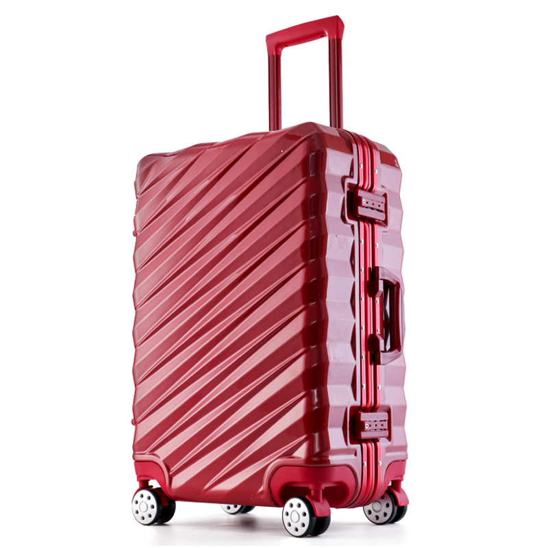 <strong>ABS</strong> 3 in 1 aluminium carry on suitcase luggage wholesale