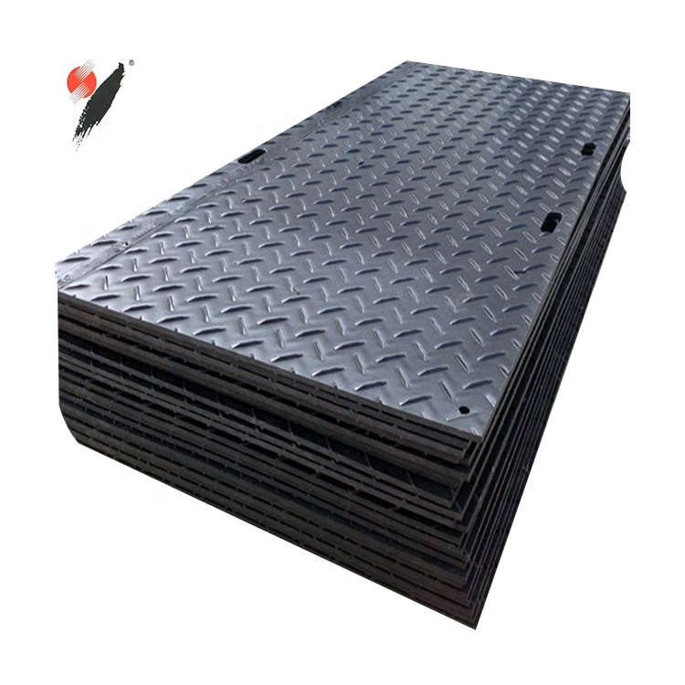 civil engineering projects high abrasion 4*8 <strong>plastic</strong> hdpe sheets / temporary access