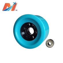Maytech 83x52mm Electric Skateboard PU Wheels High Shock Resistance and Great Hardness Wheel with Bearing