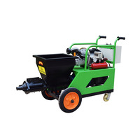 Strong Rotor 110V 220V Mortar Spraying Plastering Machine For Wall