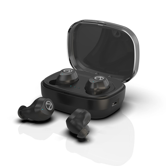 Wireless Headset Magnetic Headphone True Stereo Sport Earbud Best TWS for MP3 player and Smart <strong>Phones</strong>