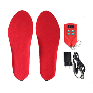 TUV Certificated Built-in Battery Heated Insoles for Cycling with Over High Temperature Control 3.7V 2000 mAh