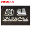 New Illuminated Fabricated Stainless Steel Backlit Led Letter